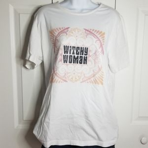 Bella Canvas Witchy Woman Graphic Tee Sz L